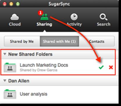 SugarSync File Manager for Mac