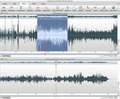 WavePad Free Audio, Music, MP3 Editor for Mac